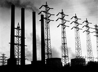 the beauty of technology (transformer plant near knappsack) by wolff & tritschler