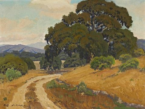 a country road by arthur hill gilbert