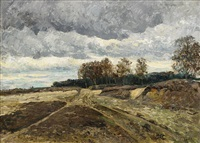 höstlandskap by carl fredrik hill