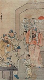 簪花图 by xu xiang