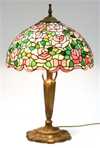 table lamp by chicago mosaic lamp company