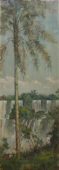 iguazu falls by william adam