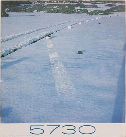 5730 mirror trail by robert smithson