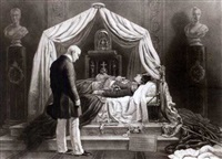 wellington visiting the relics of napoleon by james scott