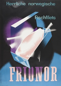 frionor (poster) by fritz buhler
