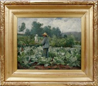 cabbage patch by gari melchers