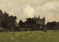 château de la loire by henri linguet