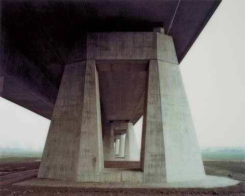 a 14 saalebrücke beesedau 3 from the series traffic projects by hans christian schink