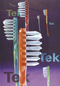 tek (poster) by fritz buhler