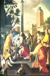 jesus ruft die kinder zu sich