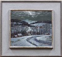 new england winter by susan gertrude schell