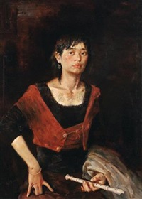 女孩写生 (girl) by piao chenghao