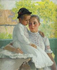 mor och barn by ferencz (franz) paczka