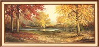 autumn stream by don langford