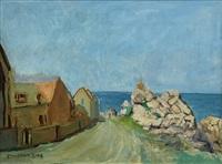 village near the coast by carl oscar borg