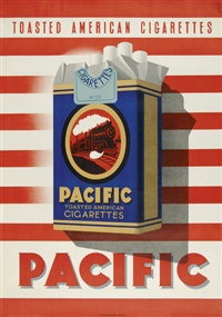 pacific. toasted american cigarettes by andrée simon