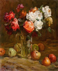 roses by xu yongxiang