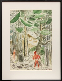 hunters in the redwoods by ralph w. stackpole