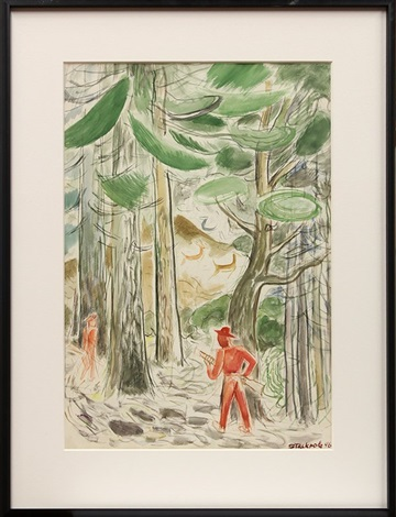 hunters in the redwoods by ralph w stackpole