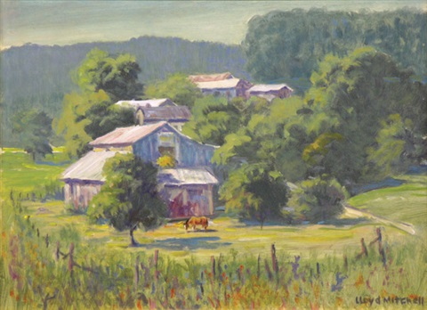 northern california farm by lloyd j mitchell