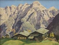 alpine chalet by hans figura
