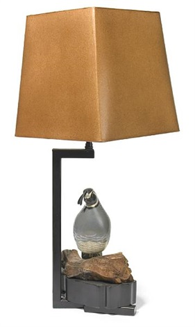 Quail lamp by William (Billy) Haines on artnet