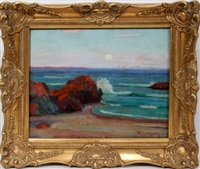 coastline scene by william greason
