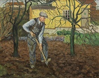 gentleman gardening by wilfred glud
