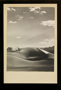 sand dunes, california by floyd b. evans