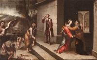 la visitación by sebastian de arteaga