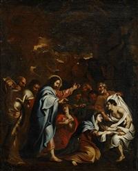 lazarus uppståndelse by andrea sacchi
