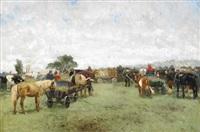 häst och komarknad by olof arborelius