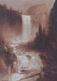 vernal falls by edward rufus hill