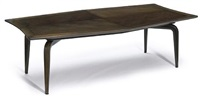 a dining table with chairs (set of 9) by maurice bailey