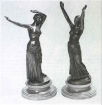 figures of dancers by c.r. muüler