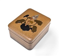 a cosmetic box (tebako) by fujioka kensai