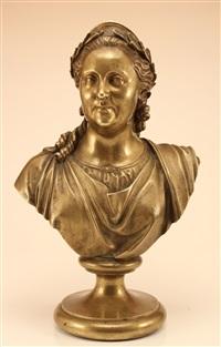 bust of catherine the great by baron petr karlovich klodt von jurgensburg