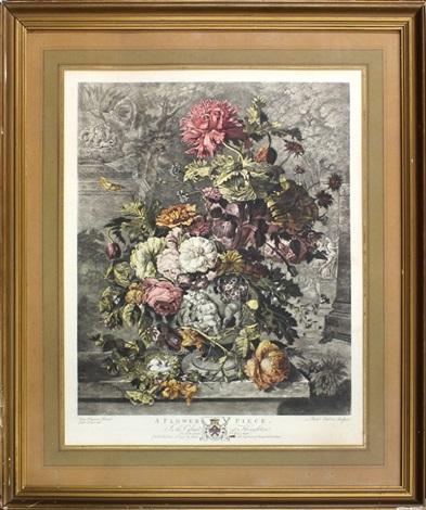 a flower piece by richard earlom