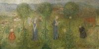 kvinnans fyra åldrar by ivar arosenius