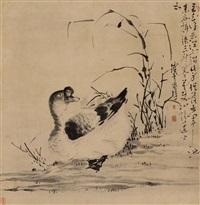 白鹅图 (goose) by jiang zhang