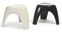 elephant stools (pair) by sori yanagi