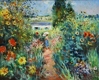 le jardin à giverny by max agostini
