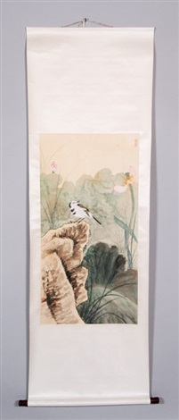 scroll painting by xie zhiliu