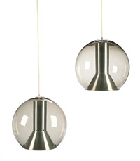 hanging lamps (pair) by raak