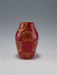 vase murrine by ermanno toso