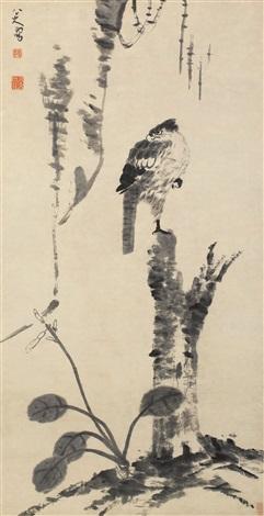 独立苍茫 (eagle) by bada shanren