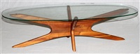 contemporary table by vladimir kagan
