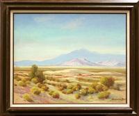 desert landscape by george sanders bickerstaff