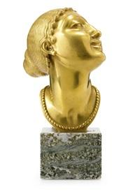 kvinnohuvud by olof ahlberg