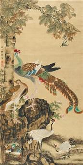凤凰仙侣图 (phoenix) by xu rong